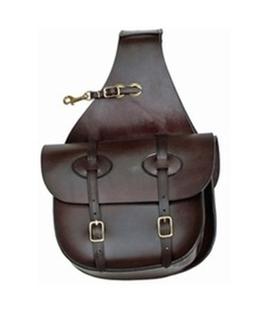 Tucker® Traditional Leather Saddle Bags