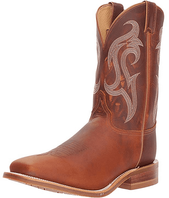d74e495f823f3 Justin® Men's Square Toe Soft Curry Brown Cowboy Boot