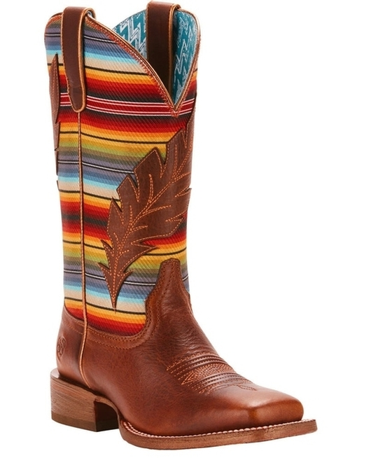 7613dae8 Ariat® Ladies Circuit Feather Western Boots